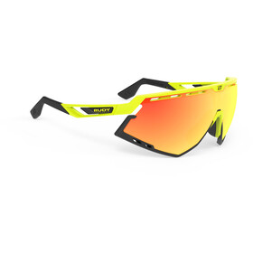 Rudy Project Defender Cykelbriller, yellow fluo - rp optics multilaser orange